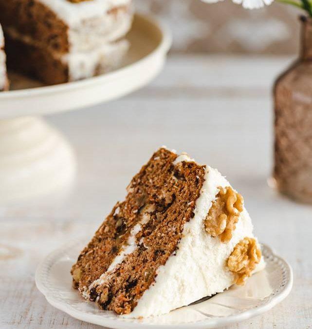 Przepis od Bogusi na ciasto marchewkowe bezglutenowe