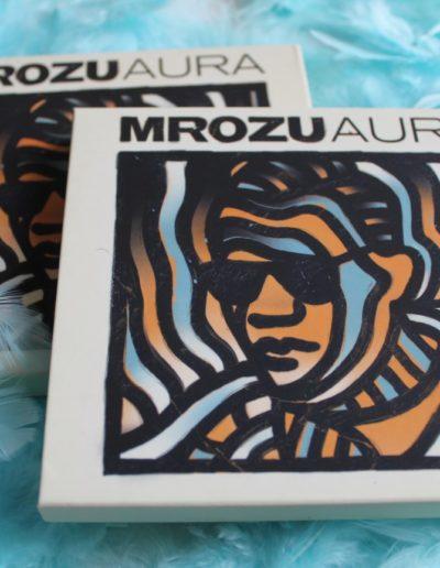 Mrozu - album AURA z autografem